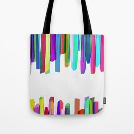 Colorful Stripes 3 Tote Bag