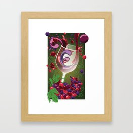 Taste Test - Mixology Series Framed Art Print