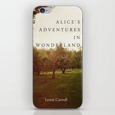 Alice's Adventures In Wonderland iPhone & iPod Skin