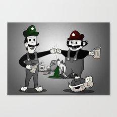 Super Smash'd Bros. Canvas Print