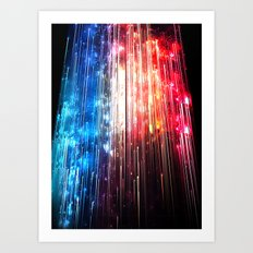 SUPERLUMINAL Art Print