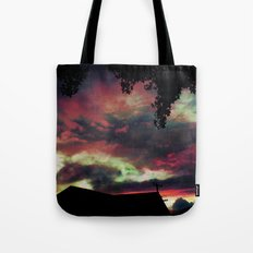 Thick as the Day's End Tote Bag