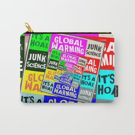 Global Warming Hoax Carry-All Pouch