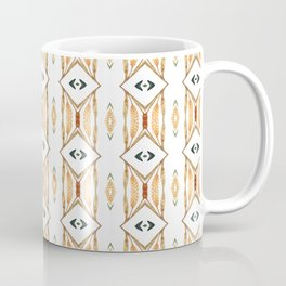Ethnic symmetrical floral ornament Coffee Mug