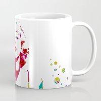 monroe Mugs featuring MONROE by Bianca Lopomo