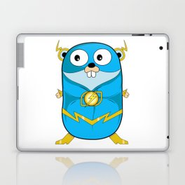 Golang - Iris Gopher Laptop & iPad Skin