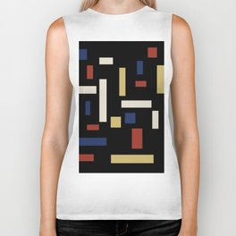Abstract Theo van Doesburg Composition VII The Three Graces Biker Tank