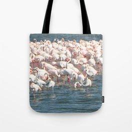Flamingoes Tote Bag