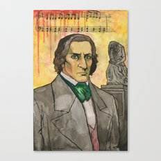 Frederic Chopin Canvas Print