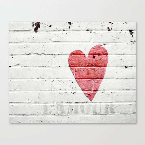 L'amour Canvas Print