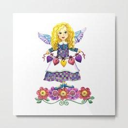Angel Love Metal Print