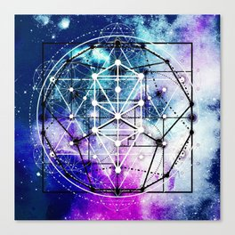 Sacred Geometry: Intertwined Canvas Print