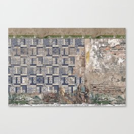 Old Greece House Canvas Print