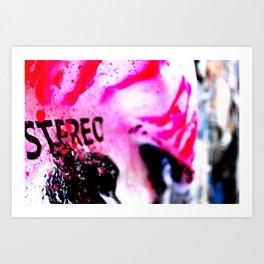 Pink poster Art Print
