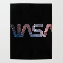 NASA font Poster