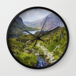 Lead Me To Freedom Wall Clock