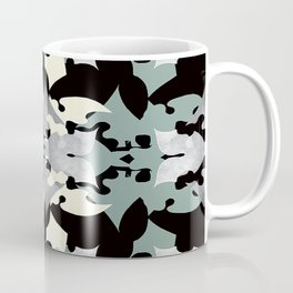 Shadow Frost- Art Deco Decoupage Coffee Mug