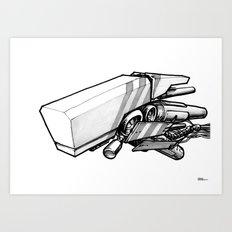 Machine object III Art Print
