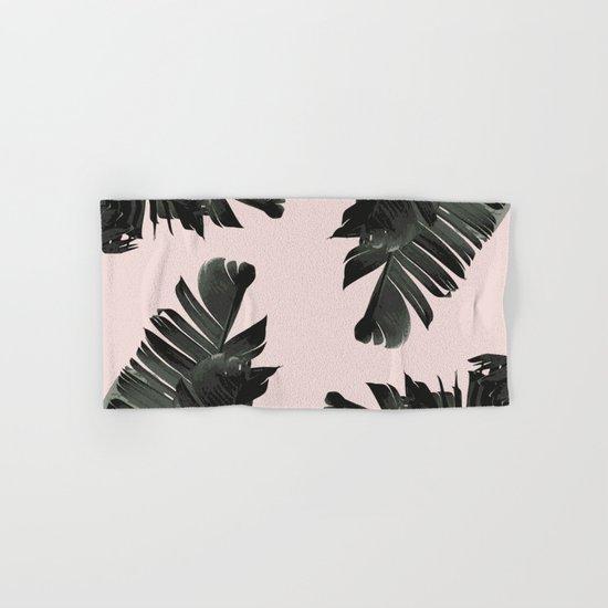 Tropical palm spring Hand & Bath Towel