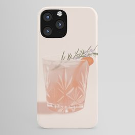 Gin Fizz Cocktail iPhone Case
