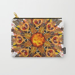 horrible insects mandala Carry-All Pouch