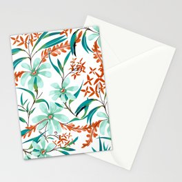 Minty Rust Stationery Cards