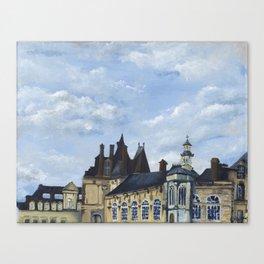 Fontainebleau Canvas Print