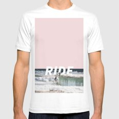Ride Mens Fitted Tee White MEDIUM