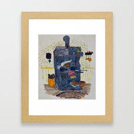 Woodstove1 Framed Art Print