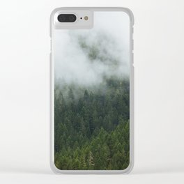 Tree Fog Clear iPhone Case
