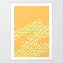 Desert Groove Art Print