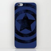 steve rogers iPhone & iPod Skins featuring Steve Rogers 008 by TheTreasure
