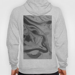 Black and grey marble Hoody