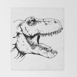 Tyrannosaurus Rex Throw Blanket