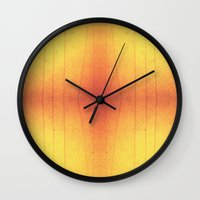 code Wall Clocks featuring Code by Alaina Abplanalp