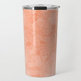 Mosaic Peaches & Cream Travel Mug