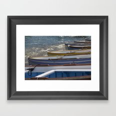 Capri Framed Art Print