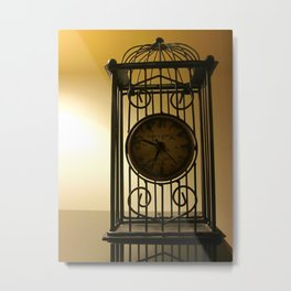Time In A Yellow Field Metal Print