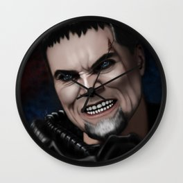 Dru-Zod Wall Clock