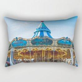 Carousel Pier 39 San Francisco Rectangular Pillow