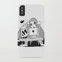 swedish iPhone & iPod Cases featuring Swedish Alliteration by Karin Ohlsson