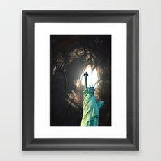 To Light up the World Framed Art Print