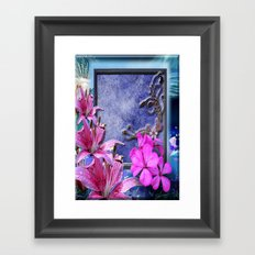 Window Sill Art Framed Art Print