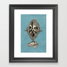 Owl Mirror Framed Art Print