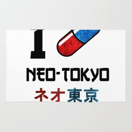 I Love Neo-Tokyo Rug
