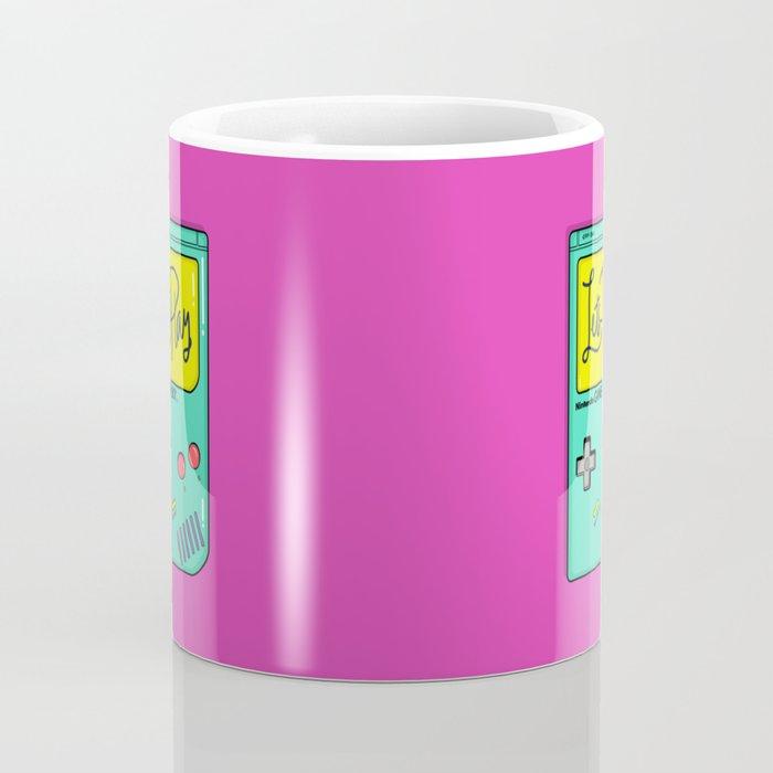 Let's Play GameBoy Coffee Mug