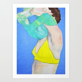 Pullover Art Print
