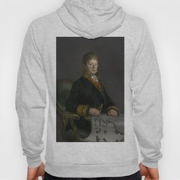 Portrait of Don Juan Antonio Cuervo by Francisco de Goya Hoody