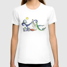 Nose riding Surfer  T-shirt