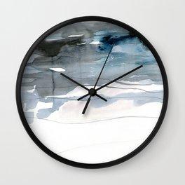 dissolving blues 2 Wall Clock